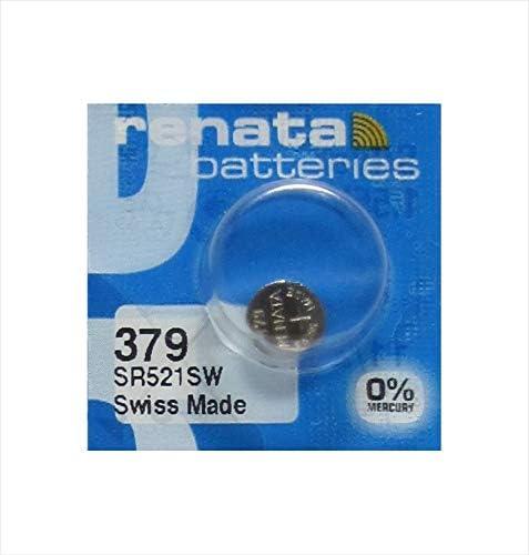379 Silver Oxide Battery by Renata