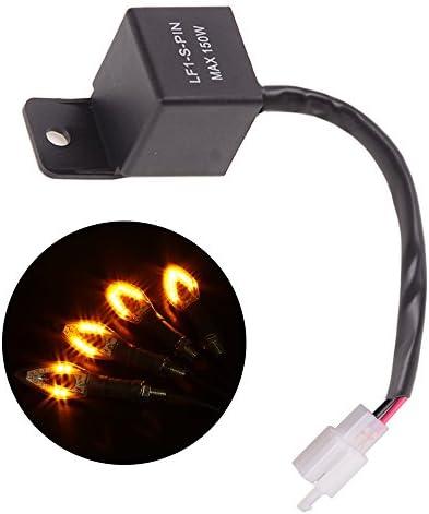 Universal Lastunabh/ängiges Motorrad LED Blinker Relais Blinkerrelais Blinkgergeber