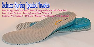 Spring Shoe Inserts Insoles Cushion Every Step You Take