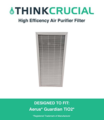 Aerus Electrolux Guardian TiO2 Air Purifier Filter Fits Aerus Guardian, Designed & Engineered by Crucial Air