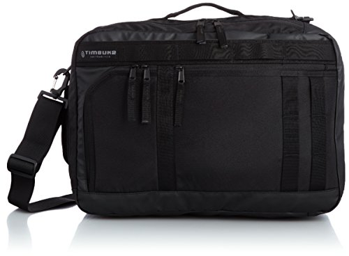 Timbuk2 ACE Convertible Backpack/Messenger/Briefcase, Black, Medium