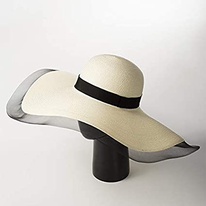 ceb882f8445 Amazon.com   ALWLj Floppy Hat Sun Hats for Women Summer Beach Wide ...