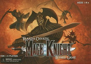 Mage Knight Board Game by NECA