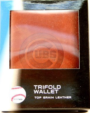 MLB Chicago Cubs Embossed Tri-Fold Wallet