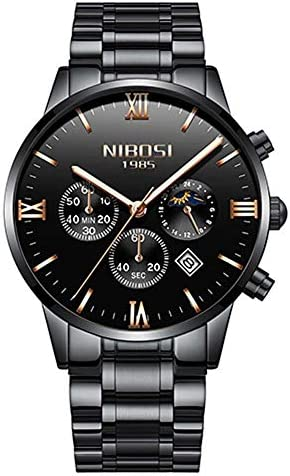 方法人のスポーツは防水腕時計の男性用時計の腕時計を見ます
