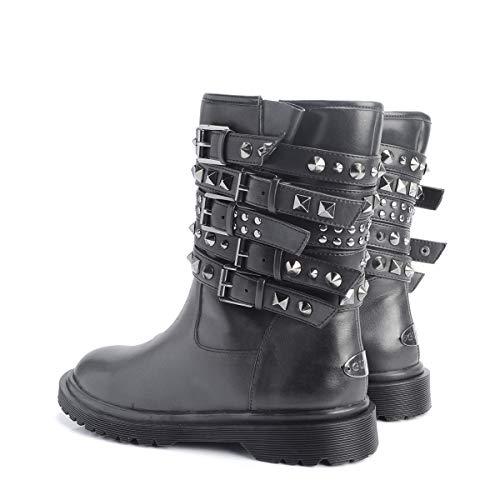 Lea10 Stivaletto Guess Flumr4 Black Donna 508qTxB