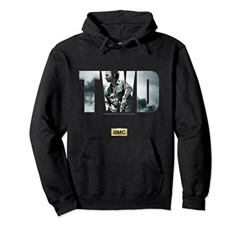 Unisex The Walking Dead Season 6 Hooded Sweatshirt Large Black