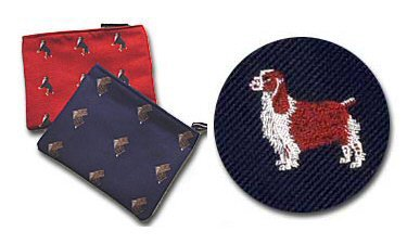 - Springer Spaniel (Liver) Cosmetic Bag (Dog Breed Make-up Case)