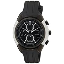 Citizen EcoDrive Analog Black Dial Men&039s Watch CA0286
