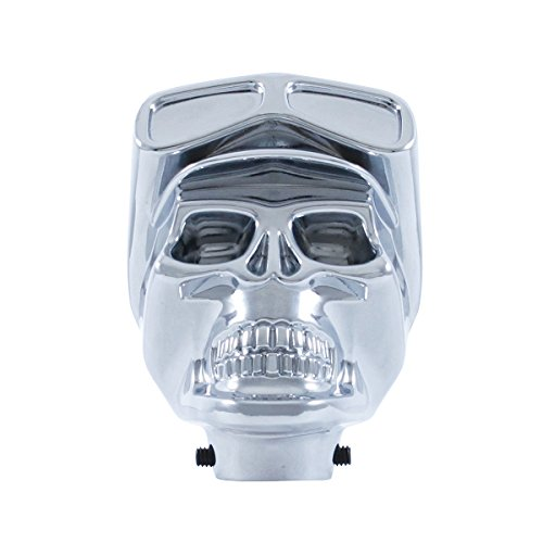 United Pacific 70629B Chrome Skull Biker Shift Knob