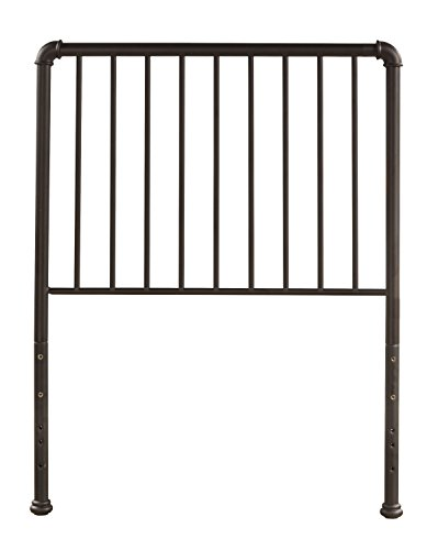 Hillsdale Furniture Hillsdale Brandi, Oiled Bronze, Frame Not Included Twin Headboard (Metal Headboards Antique)