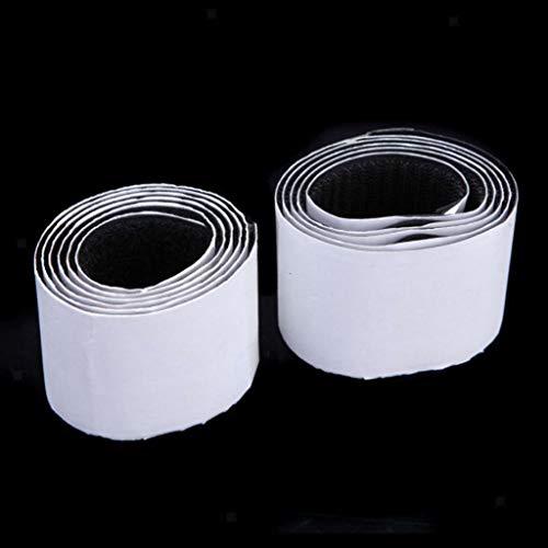 - 50mm Heavy Duty Fastening Tape Self-Adhesive Sticky Strip Sew Tape Hook Loop