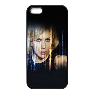 iPhone 5 5s Cell Phone Case Black Lucy Film Scarlett Johansson Sexy Face C6U6XP