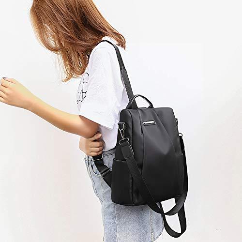 Loisirs imperméable pour nylon en Voyager adolescentes VHVCX designers Femmes sac à Black Sac d'épaule célèbres à les dos dos Sacs Mode x07qTg
