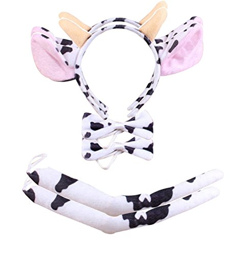 BabyPreg Kids Dalmatian Headband Fancy Mouse Tiger Animals