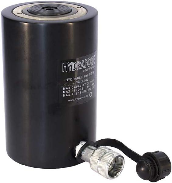 30/ton, 50/mm hydrafore Cric hydraulique en aluminium Roue