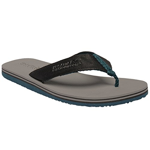 Flop Rico Regatta Flip Lightweight Rock Thong Mens style Grey Cushioned Sandals q4qwFAX