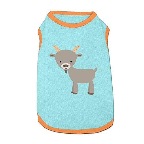 Kawaii Goat Puppy Dogs Shirts Costume Pets Clothing Warm Vest T-shirt (Make Goat Boy Costume)