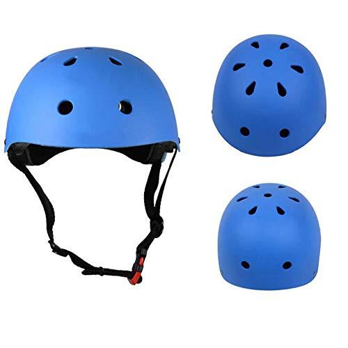 ZY Cycling Skating Protective Helmet Plum Helmet Drifting Cap Ventilation Unisex for Children,Blue,S (Best Helmet For Drifting)