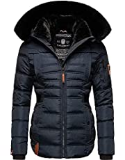 Navahoo Melikaa winterjas voor dames, winterparka met afneembare capuchon, XS-XXL