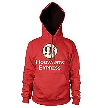 Harry Potter Oficialmente Licenciado Hogwarts Express Platform 9-3/4 Sudaderas con Capucha: Amazon.es: Ropa y accesorios