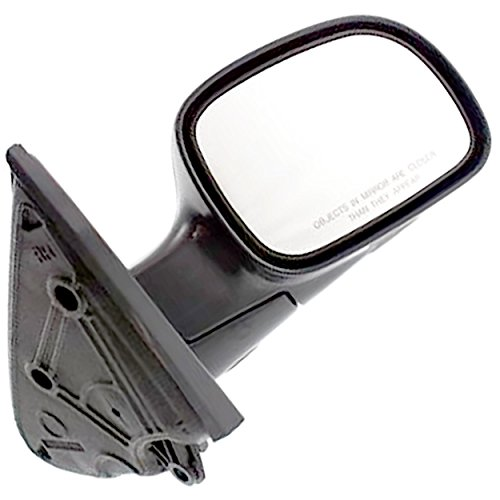 APDTY 0662271 Side View Mirror Assembly Manual Non-Power Adjust Fits Right 2001-2007 Caravan Voyager Grand Caravan or Grand Voyager 04-07 Town & Country (Replaces 4894410AE, 4894410AA)