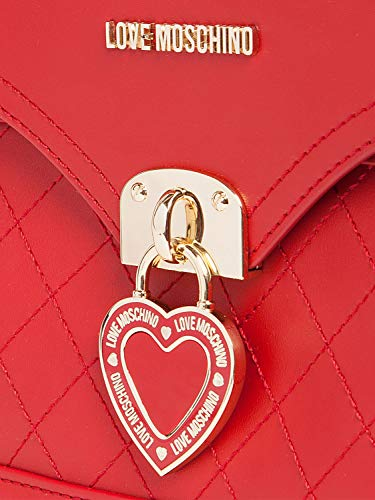 Moschino Mujer Mujer Bolso Love Moschino Rosso Love Love Rosso Bolso Moschino Mujer Bolso OUwzaOxq