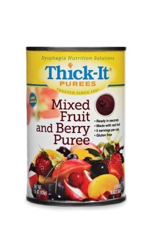 Thick-It Purees - Mixed Fruit & Berry - Case of 12 - 15 o...