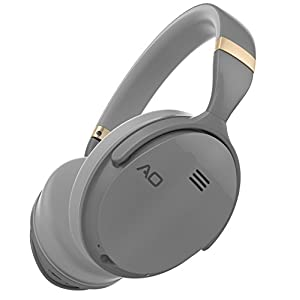 AO Active Noise Cancelling Headphones Wireless Bluetooth Headphones Over-Ear - M5