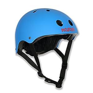 KaZAM Kid's Multi-Sport Helmet, Bright Blue
