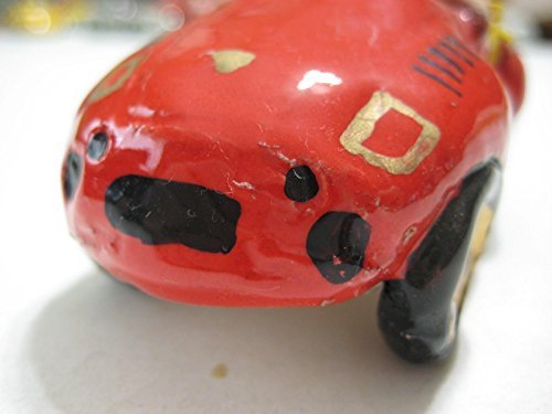 (Cartoons (USA) Red Porsche 930/935 Cabriolet Slant Nose Ceramic 90-mm)