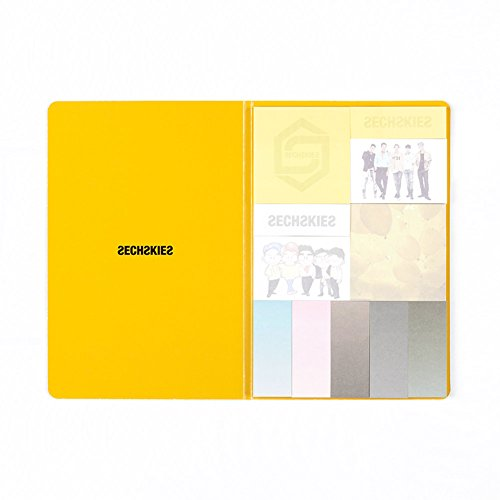 YG ENTERTAINMENT SECHSKIES 2016 Sticky Note SET