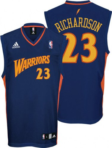 factory authentic d50f4 84b5a Amazon.com: Jason Richardson Jersey: adidas Blue Replica #23 ...