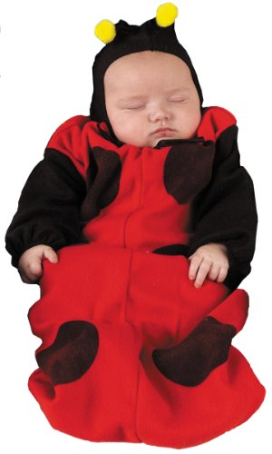Baby Lady Bug Bunting Costume Size 0-9 Months