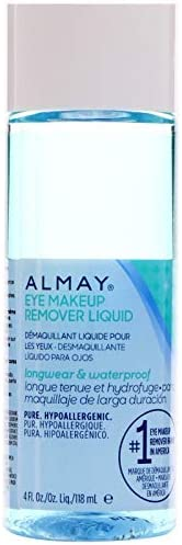 Alm Eye Mkup Removr Lgwr Size 4 Almay Longwear & Waterproof Gentle Eye Makeup Remover Longwear Liquid 4oz