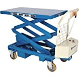 Bishamon Industries Battery-Operated Mobilift Scissor Lift Table - 660-Lb. Capacity, Model# BX 30SB