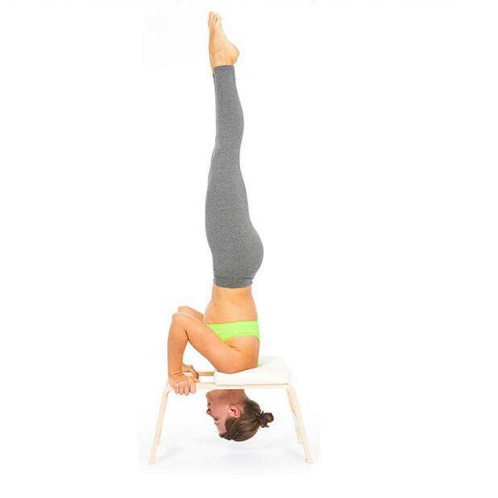Silla de Yoga Taburete Boca Abajo Pivote Auxiliar de Forma ...