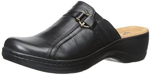 Clarks Womens Hayla Marina Black Leather 3YojBBEY
