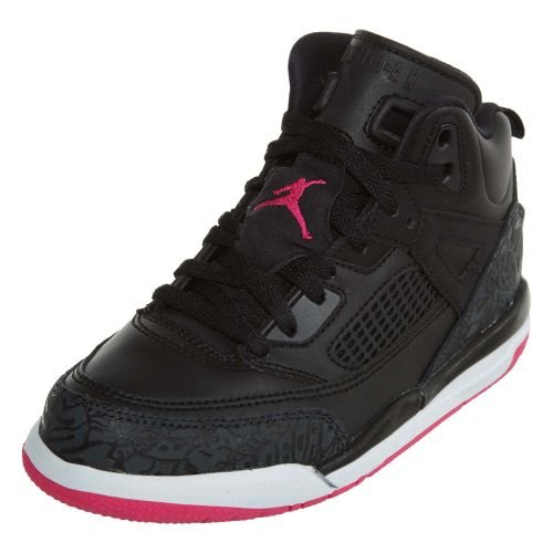 Jordan Spizike Girls Little Kids Shoes Black/Deadly Pink/Anthracite 535708-029 (13.5 M US) by NIKE