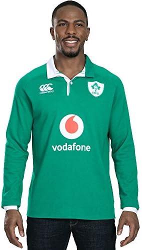Canterbury of ニュージーランド ラグビー ワールドカップアイルランドラグビー メンズ Vapodri Home 長袖クラシックジャージ
