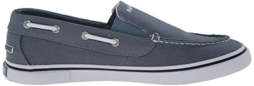 Nautica Mens Doubloon Toile Slip-on Chaussure Bleu Mirage