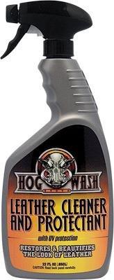 Hog Wash 22oz Leather Cleaner & Protectant HW0549 by Hog Wash