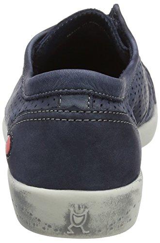 Softinos Vrouwen Ica388sof Sneaker Blauw (marineblauw)
