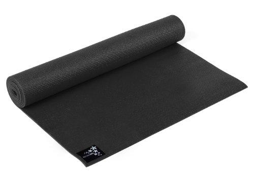 Yogistar Yogamatte Basic - rutschfest - Zen Black
