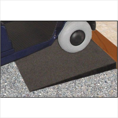 48'' L x 24'' W Rubber Threshold Ramp/Cargo Wedge Boxed (Set of 2)