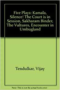 The Vultures By Vijay Tendulkar Pdf