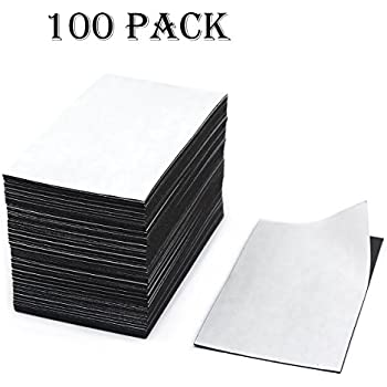 CMS Magnetics Business Card Magnets, 20mil, Package of 100 Good for Fridge Magnets and Warehouse Rack Labels