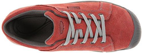 KEEN Womens Reisen Lace Shoe, Red Dahlia, 6.5 M US