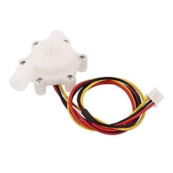 0.1L Sensor del contador de caudal de agua electrónica/mim-4,5