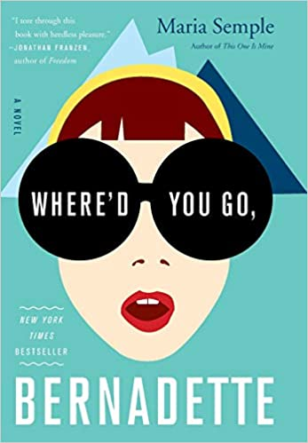 Whered You Go Bernadette Book Cover